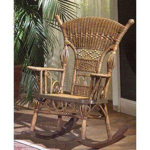 Magnificent Patio Garden Rocking Chair Wicker Rocking Chair Wicker Ibusinesslaw Wood Chair Design Ideas Ibusinesslaworg