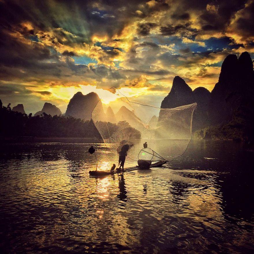 Yongmei Wang From Chongqing China 2nd Place Sunset Iphone Photography Beautiful Photography Nature Nature Photography