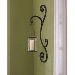 Wall sconces candles wrought iron foter home decor pinterest wall sconces candles wrought iron aloadofball Images