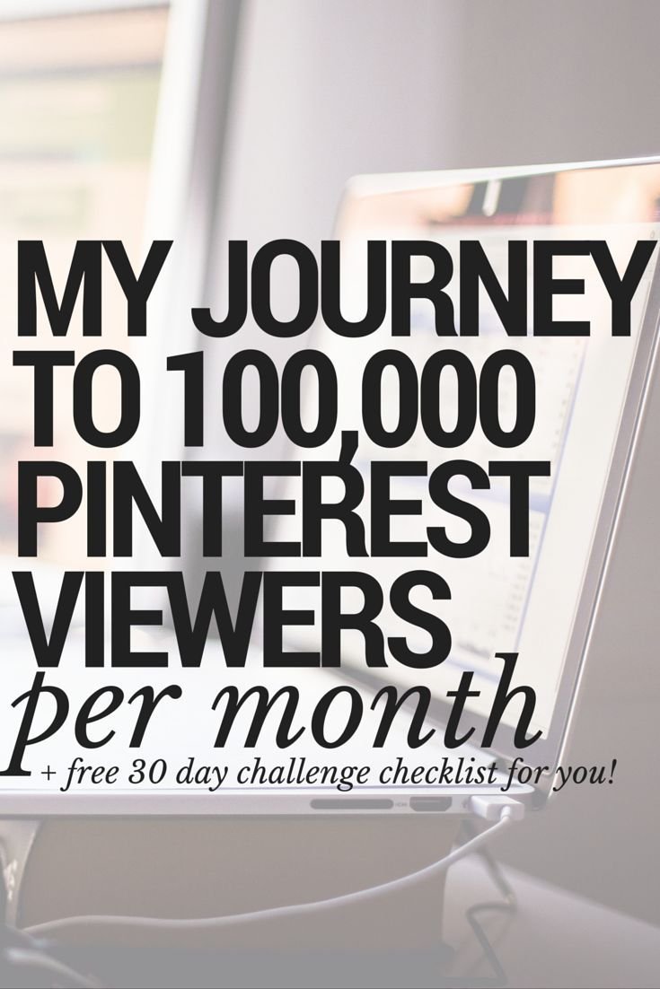 How To Increase Pinterest Monthly Viewers. How To