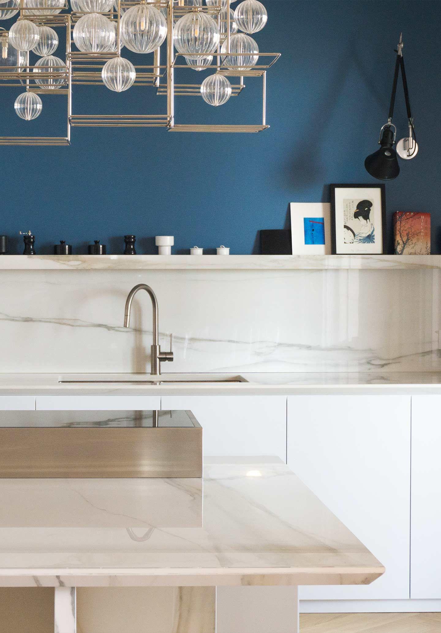 Porcelain Kitchen Countertops Florim Stone Plan De Travail