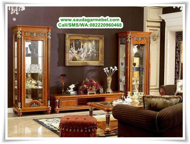 Buffet Tv Klasik Mewah Terbaru Classic Furniture Living Room