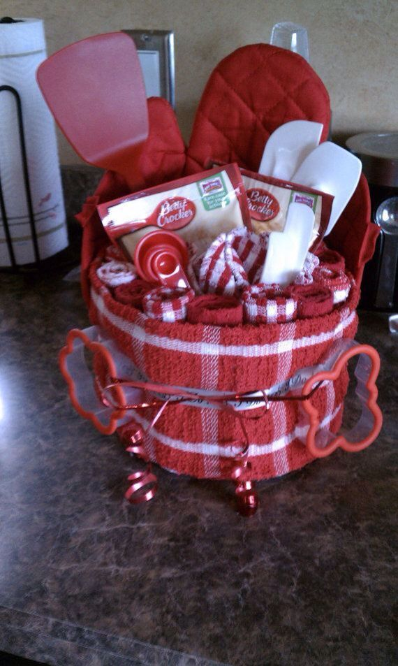 Dollar Tree Gift Baskets Baking Set Christmas Diy