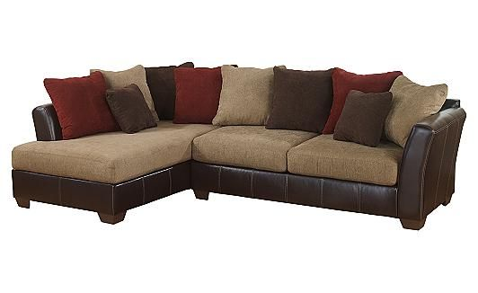 The Sanya Sectional from Ashley Furniture HomeStore  sc 1 st  Pinterest : presley sectional ashley furniture - Sectionals, Sofas & Couches