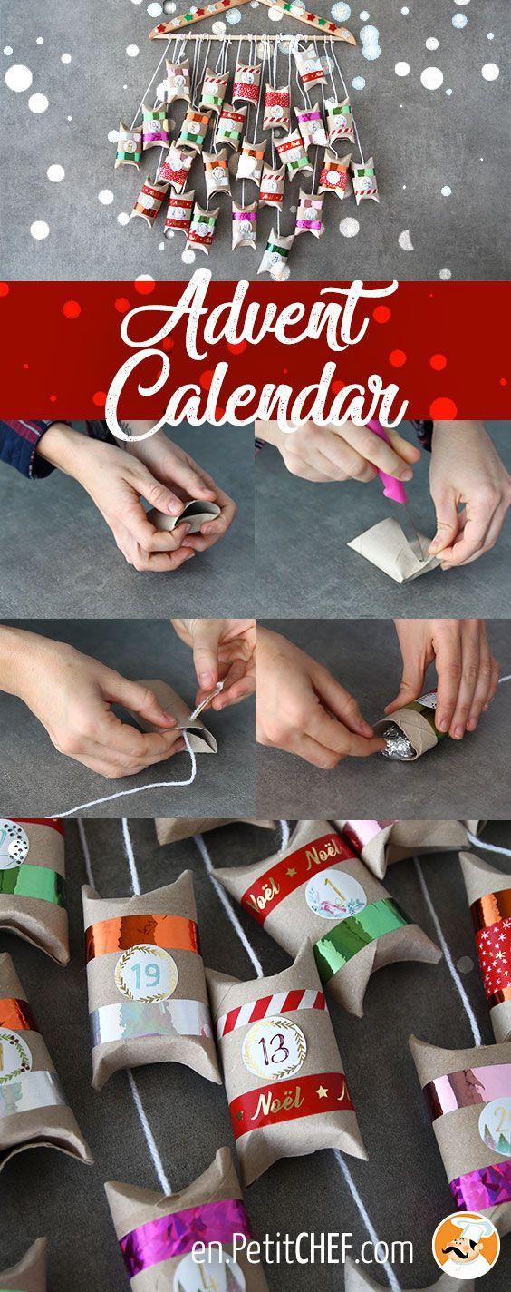 Un calendrier de l'Avent fait maison avec Ptitchef ! #calendrierdelaventfaitmaison