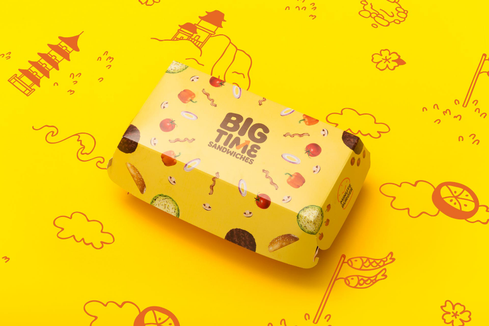 Brand New New Logo and Identity for Minute Burger by