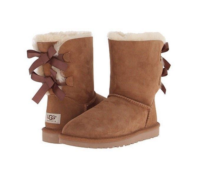 Ugg Bailey Bow Chestnut Sale