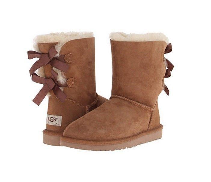 UGG Australia Women's Bailey Bow Boots 1002954 Chestnut Sz 5-10 BRAND NEW  #UGGAustralia