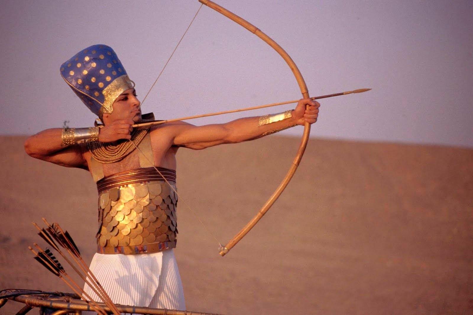 Egyptian Bow And Arrow Egyptian Warrior Ancient History