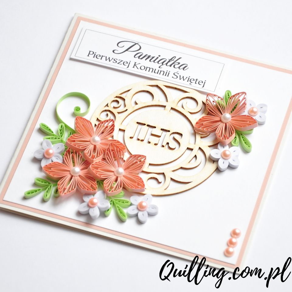 Z Tekturowa Hostia With Images Quilling Paper Quilling