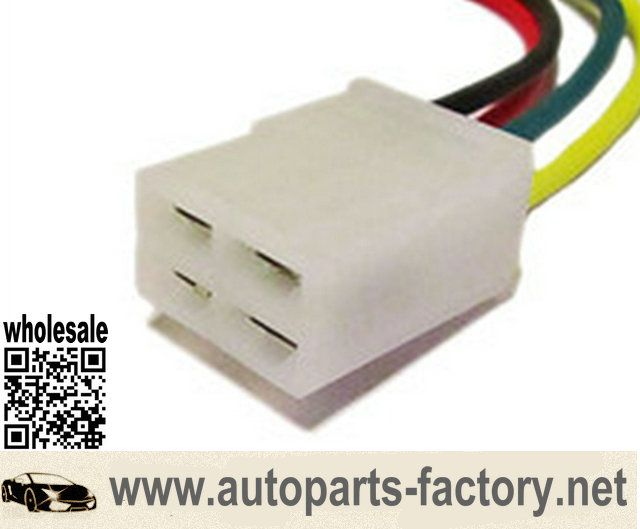 87dbe776addb0df5b4497a7b7c75d898 wholesale gm alternator repair connector 4 pin socket wiring universal wiring harness connector at gsmportal.co
