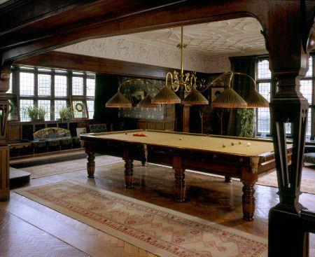Billiard Room At Wightwick Manor Billiard Room Billiards