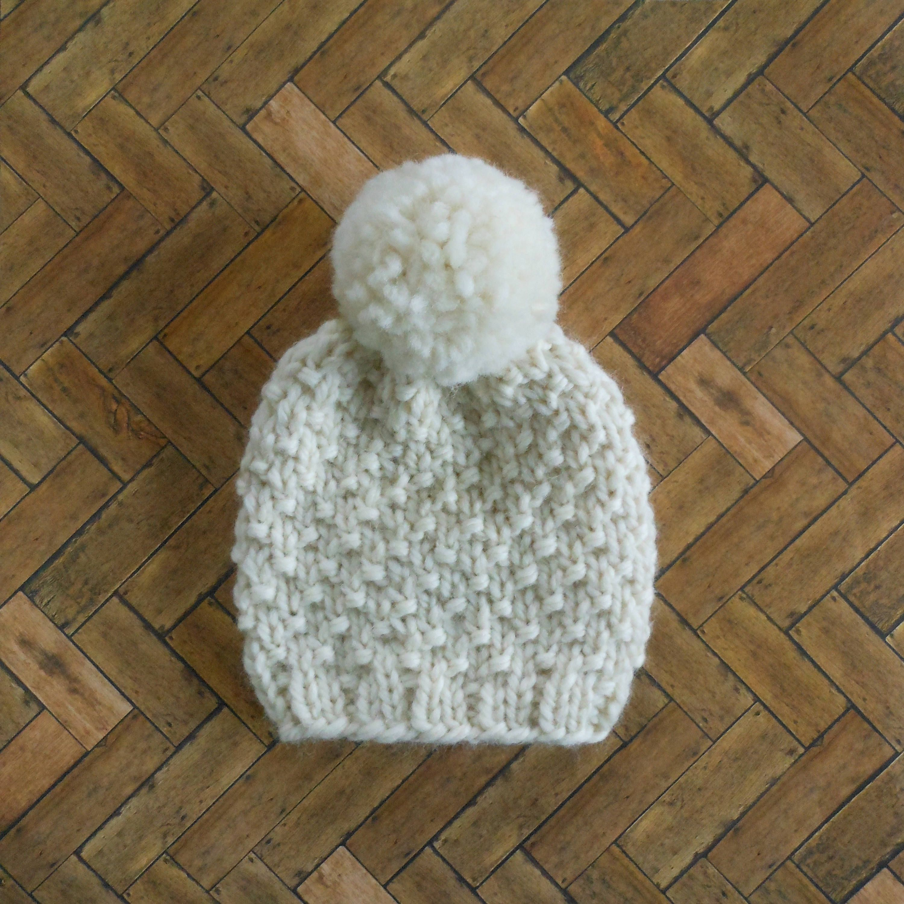 b0dc7e9faed coupon code for knit baby pom pom beanie soft wool infant hat 0 to 3 months