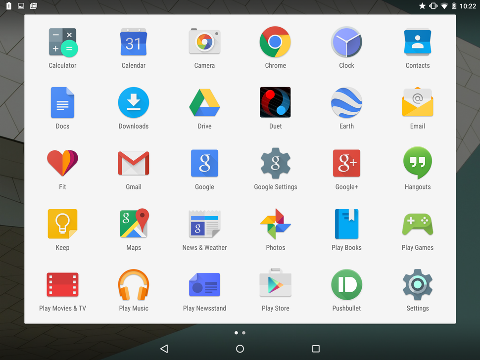 Image result for android lollipop icons App drawer