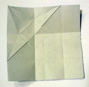 Free instructions for making an origami bookmark based on the traditional crane.