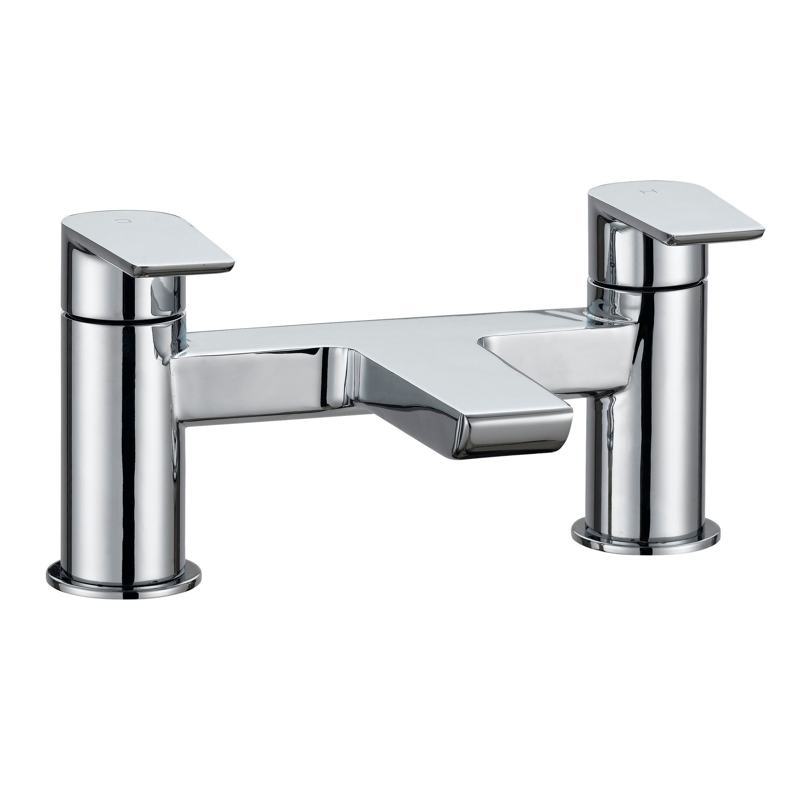 Cooke & Lewis Ricci Chrome Bath Mixer Tap | Departments ...