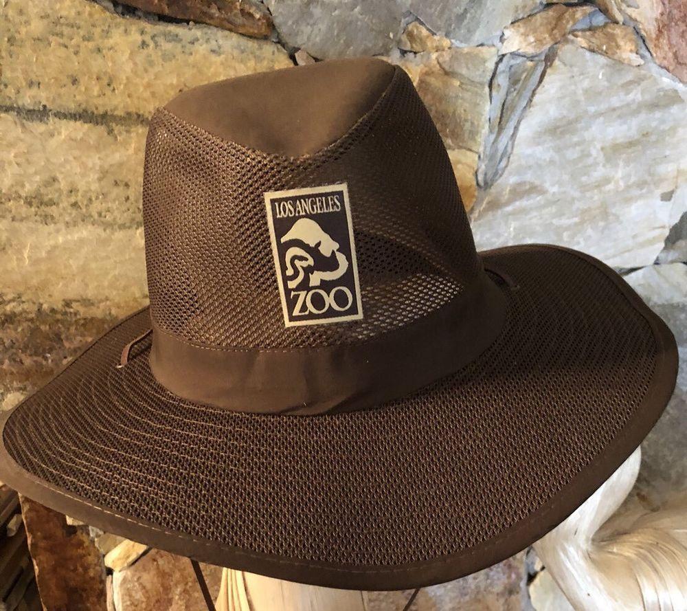 Brown Hat Los Angeles Zoo Size 60 Cm Ebay Hats For Men Brown Hats Los Angeles Zoo