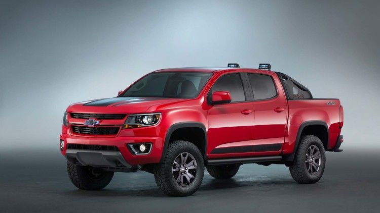 Chevy Colorado Z71 Trail Boss 3 0 Concept Heads To Sema Chevrolet Colorado Chevy Colorado Z71 Chevy Colorado