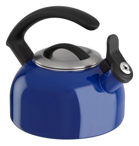 KitchenAid 15 Qt Blue Tea Kettle ** Check out @ | Teakettles ...