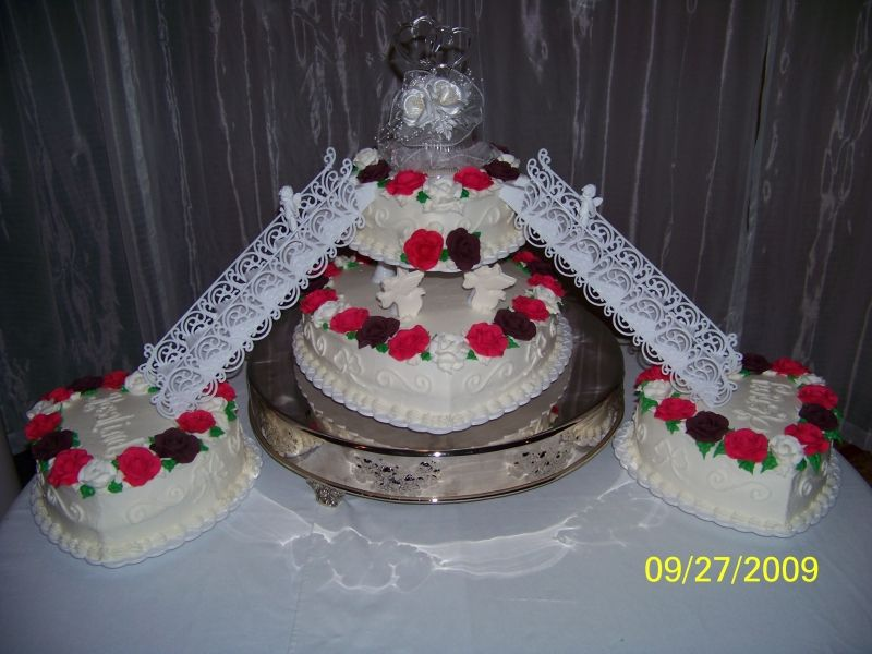 image of a stairs in wedding cake wedding cakes with stairways pictures of wedding cakes 16312