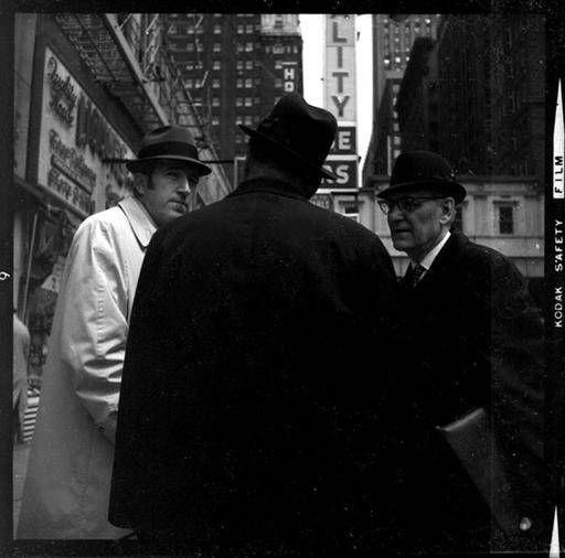 "Chicago Street Meeting, 1960s 8"" x 10"" Print in MODERN"