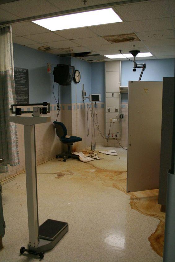 Abandoned Hospitals Maternity Room