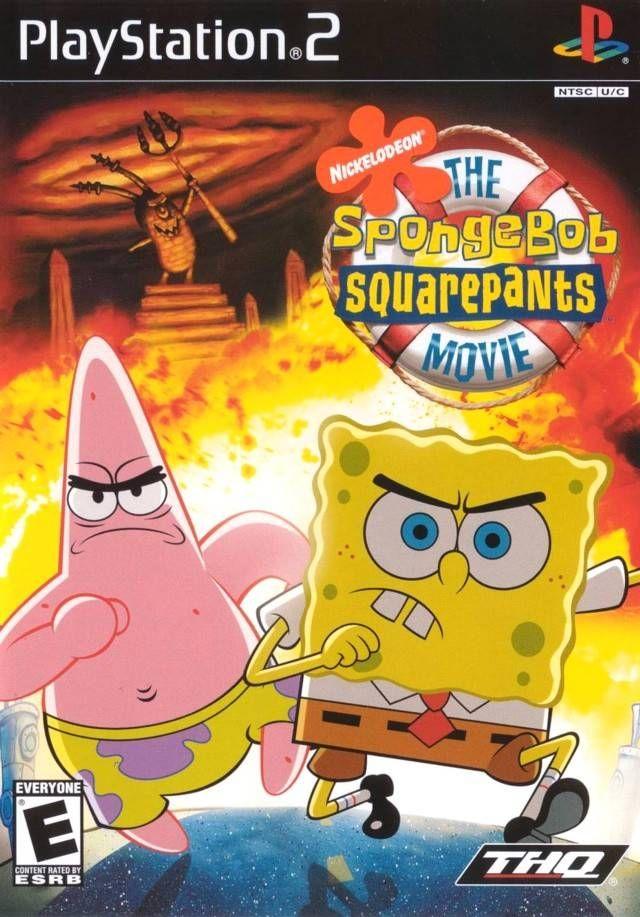 Spongebob Squarepants The Movie Sony Playstation 2 Game