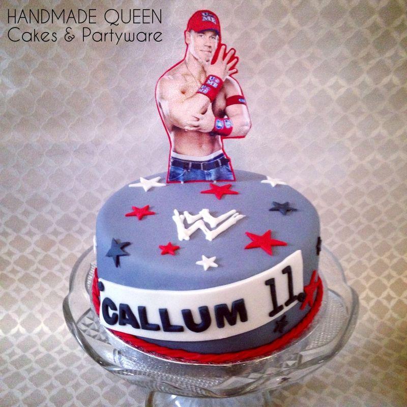 WWE John Cena Wrestling Cake johncena wwe Cakes and Cupcakes