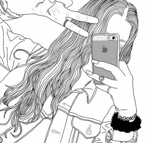 Pin By Annisa Shofia On Gggg Tumblr Outline Drawings Tumblr Drawings