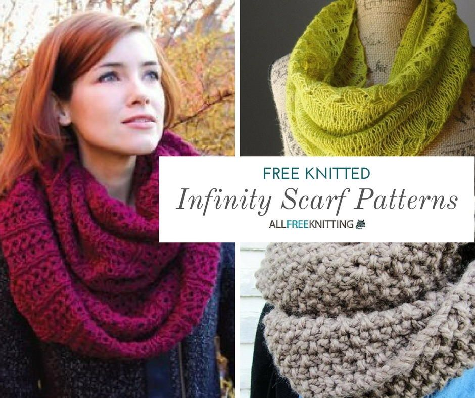 40 Infinity Scarf Patterns Youll Love Current Projects