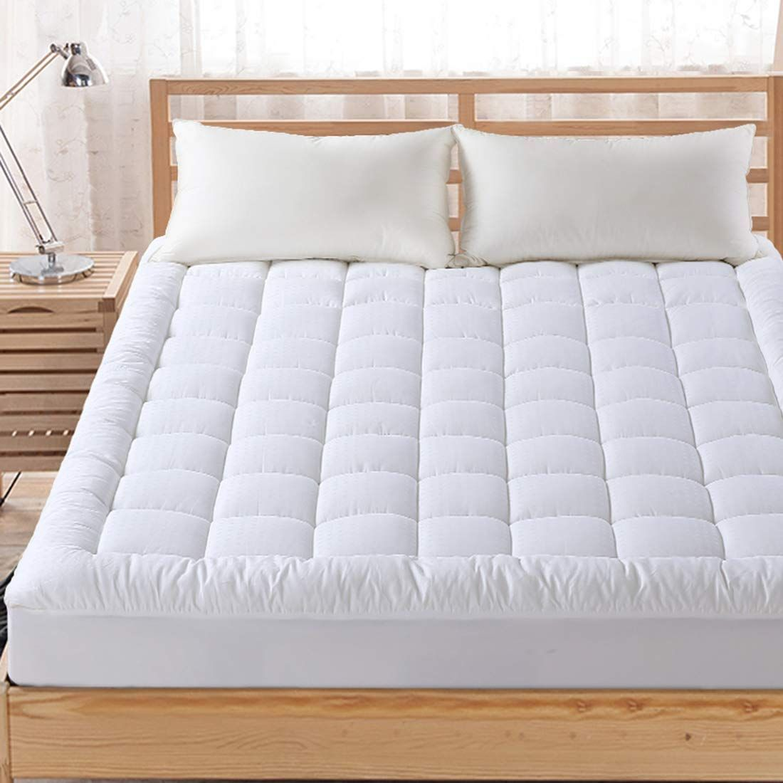 Top 10 Best Twin Xl Mattress Topper Reviews In 2020 In 2020 Pillow Top Mattress Pillow Top Mattress Pad Cover