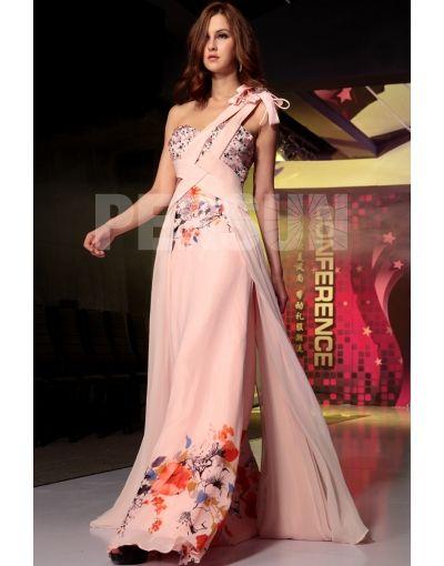 Modele de robe de soiree en mousseline