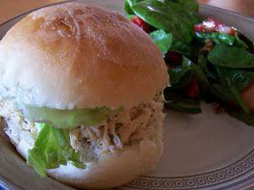 Mommy's Menu: Chicken Caesar Sandwiches