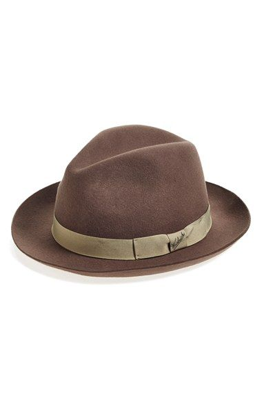 Woolrich Water Repellent Wool Felt Fedora available at  Nordstrom Estilos  Informales 3381859c09f