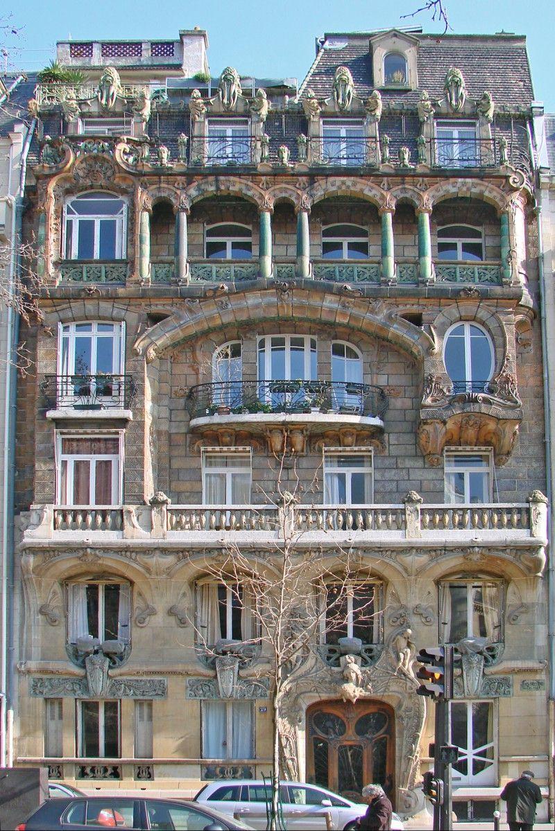 L Immeuble Le Plus Insolite De Paris En 2019 Paris Art