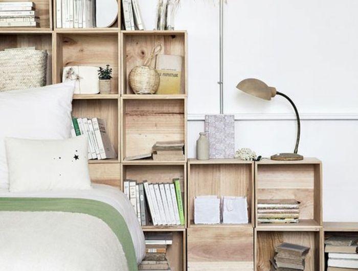 Deco Chambre M Chambre M Best Dcoration Studio M Galerie Of - Lit avec rangement autour