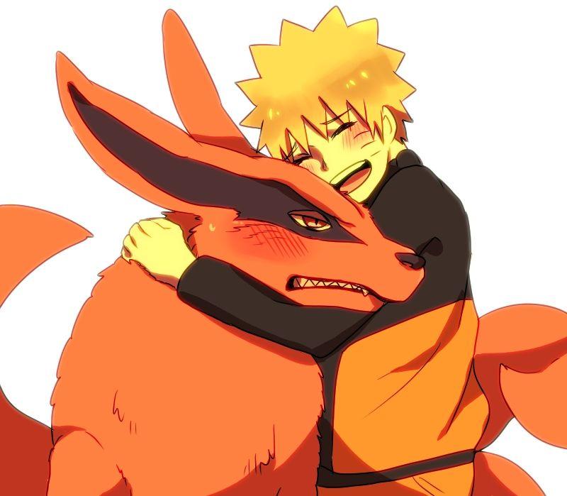 Naruto et Kurama trop cute ! | Naruto uzumaki | Naruto