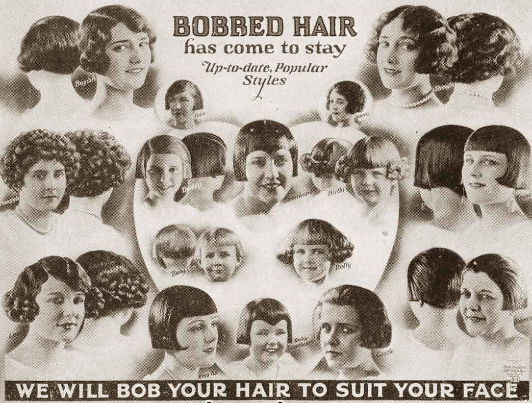 Superb 1920S Bob The Hairstyle Phenomenon Of 1924 Bob Hairstyles Schematic Wiring Diagrams Amerangerunnerswayorg