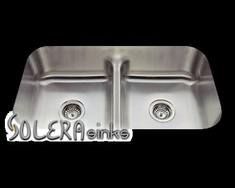 Solera S215 Stainless Steel Kitchen Sink Undermount Stainless