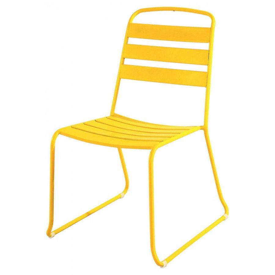 chaise jardin fun jaune | NLS_ | Pinterest | Chaise jardin ...