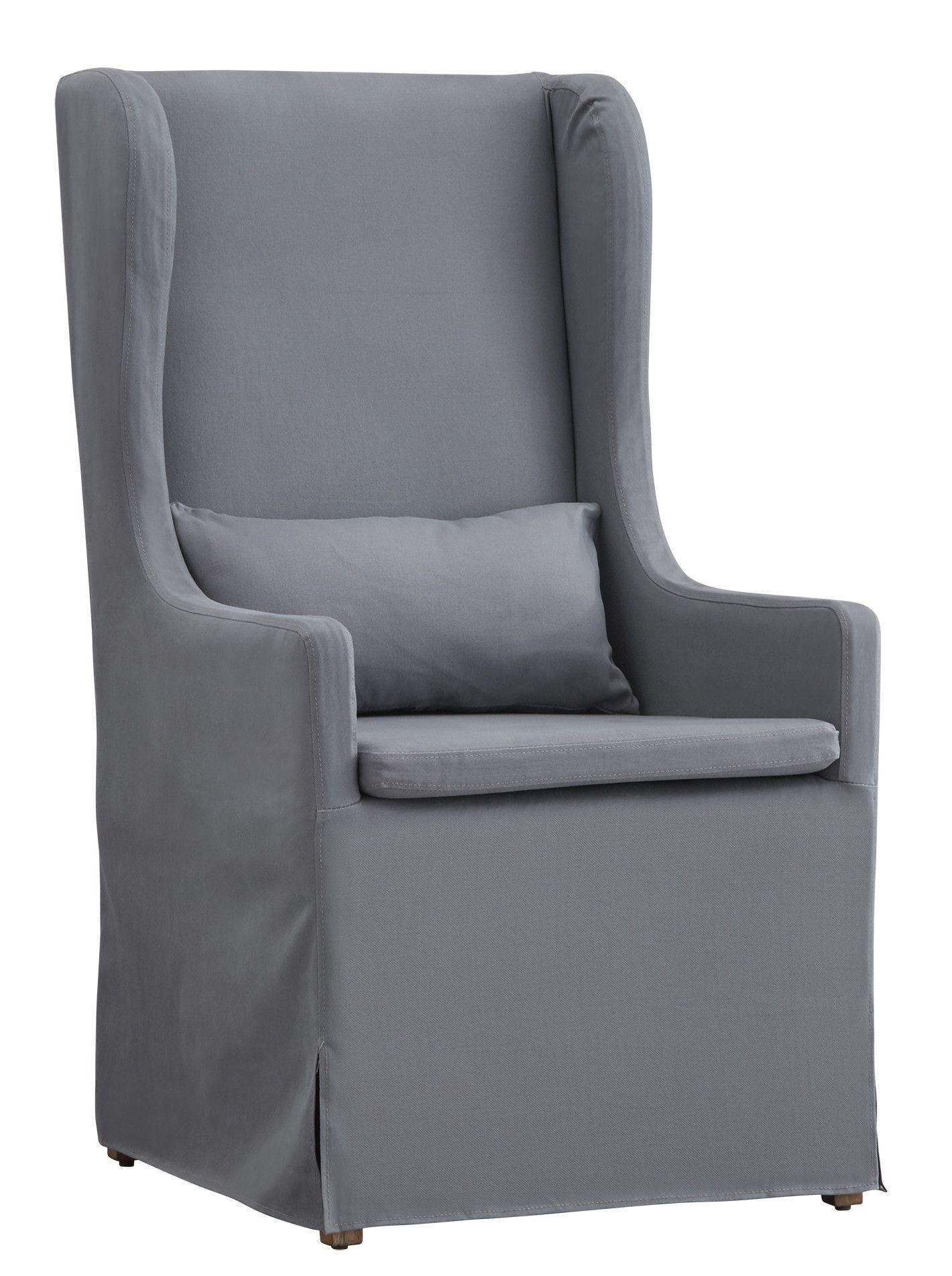 Rooney Slipcovered Wingback Chair