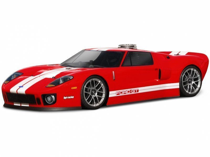 Ford Gt Red 1 10 Nitro Rc Car 60 Mph 2 Speed Rtr Custom Painted Redcatracing Ford Gt Hpi Racing Best Rc Cars
