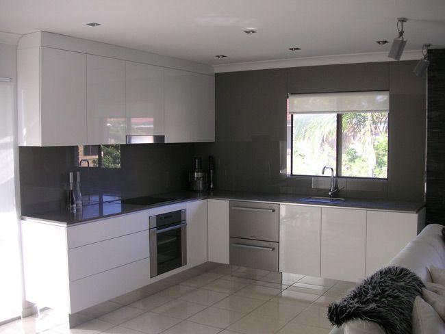 White Kitchen Grey Splashback Decorating Inspiration 1183 Best Design Ideas