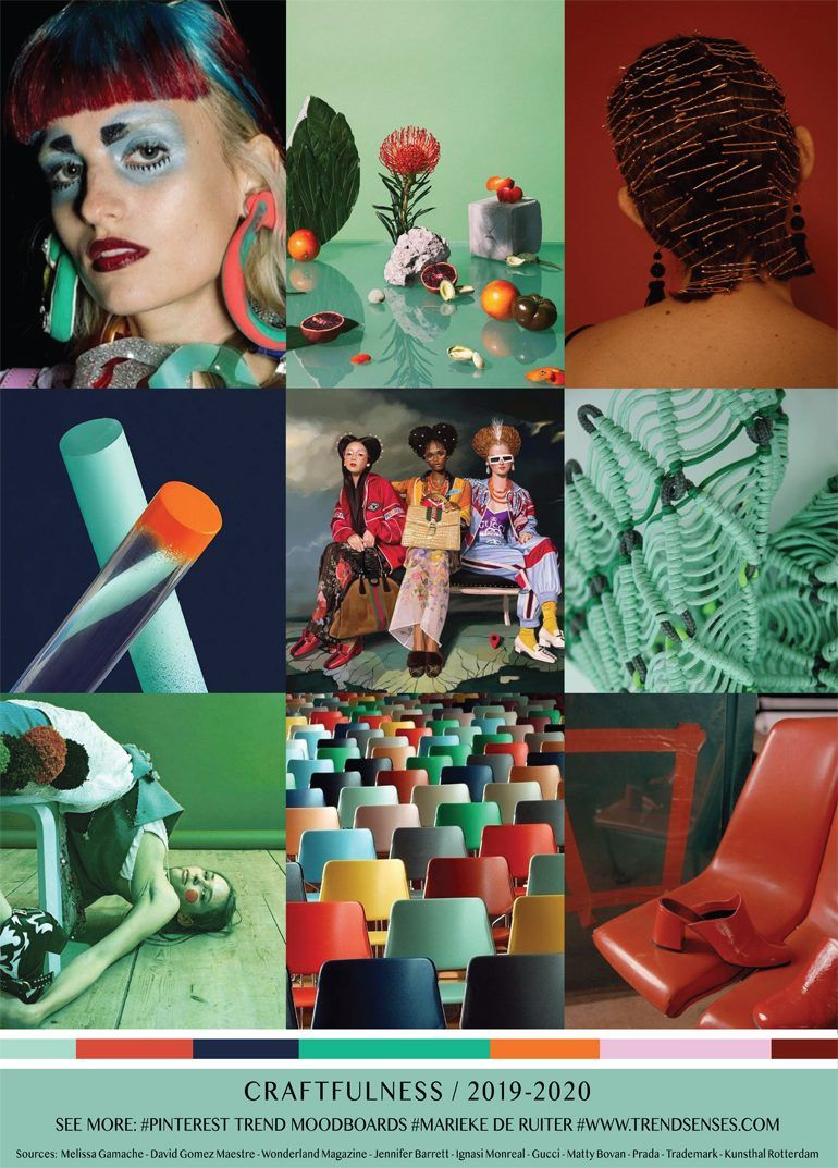 MOODBOARD - CRAFTFULNESS - 2019/2020 | trends_forecasting ...