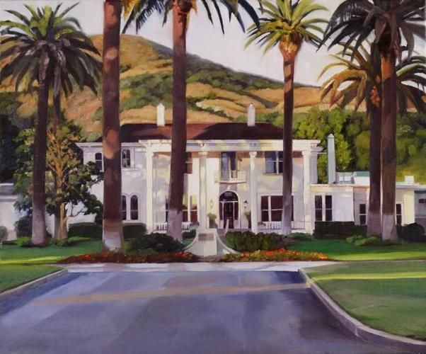 Silverado Country Club >> Silverado Country Club By Susan Hoehn Oil 24x20 Susan Hoen