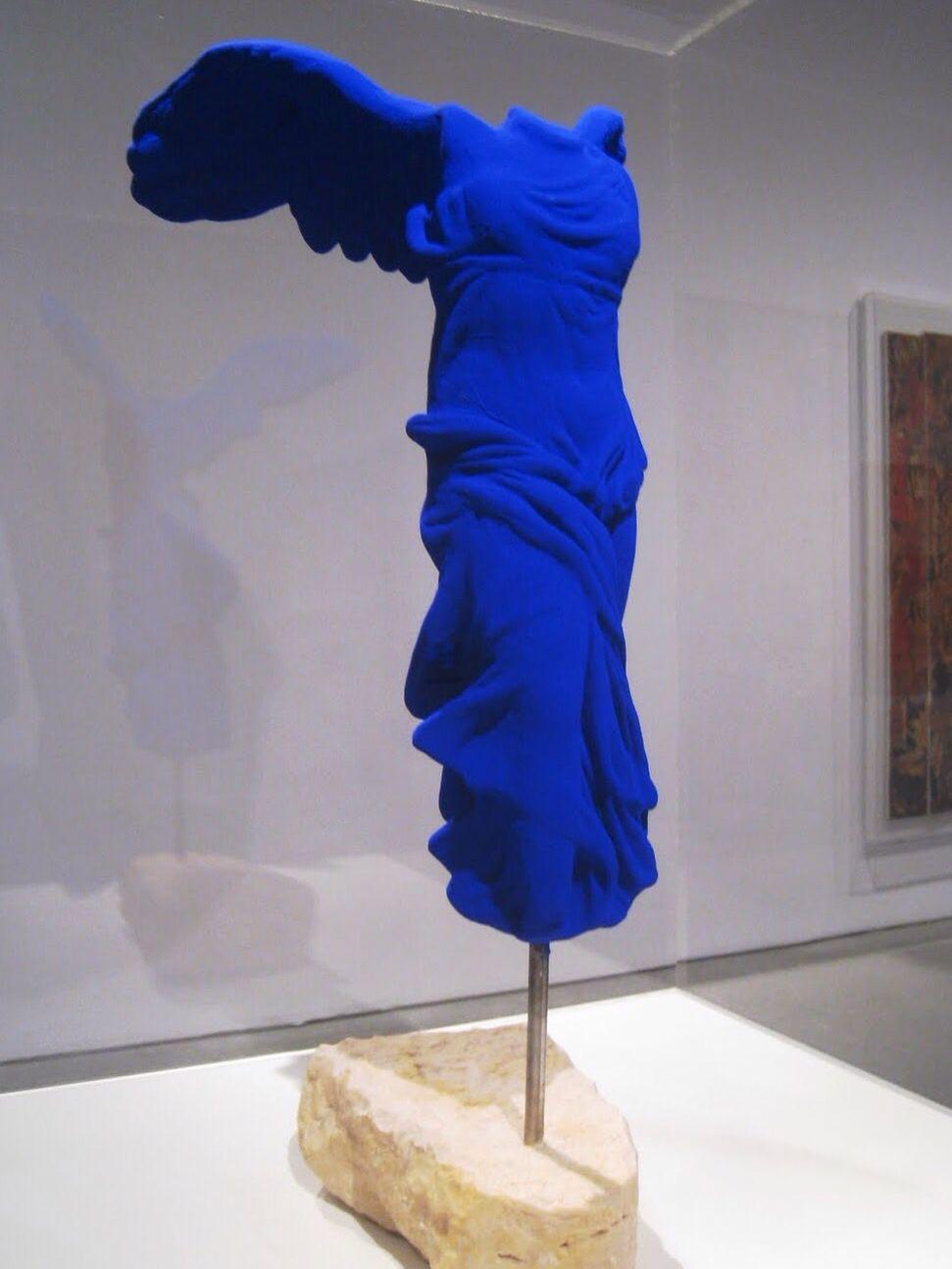 IKB (International Klein Blue), recentemente conhecida como Azul Klein é a designação da tonalidade de azulque Yves Klein obtinha com a mistura de uma determinada quantidade de pigmentos