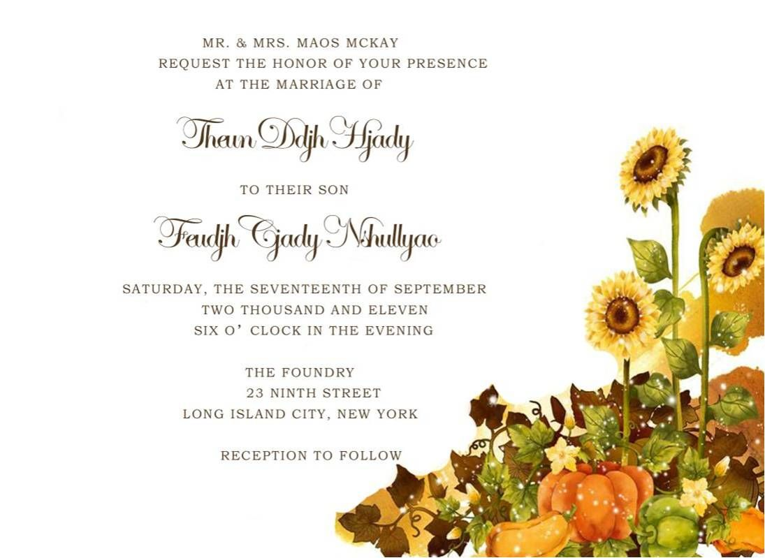 Luxury Autumn Themed Wedding Ideas Model - The Wedding Ideas ...