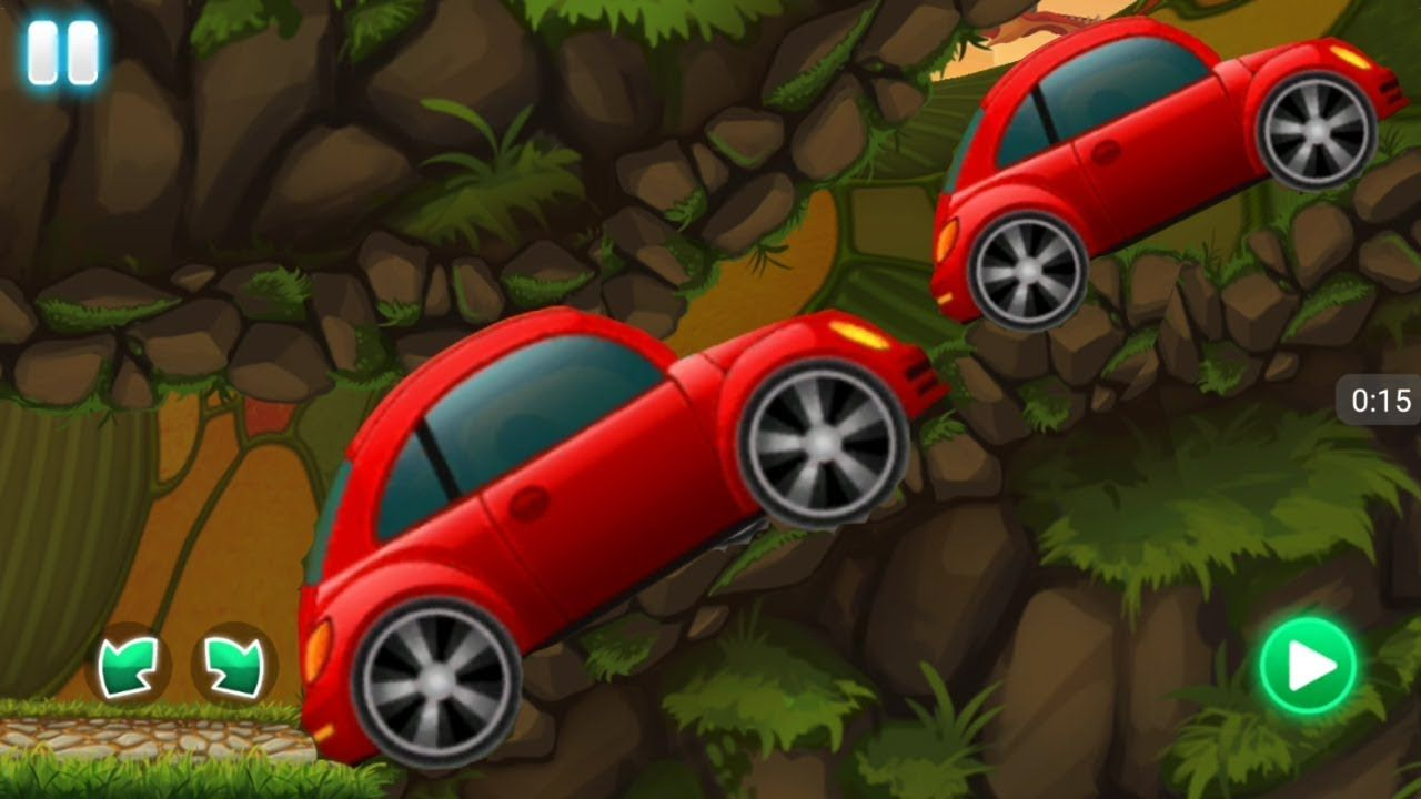 Racing Games For Kids - Little Red Car Racing with Dragon ...