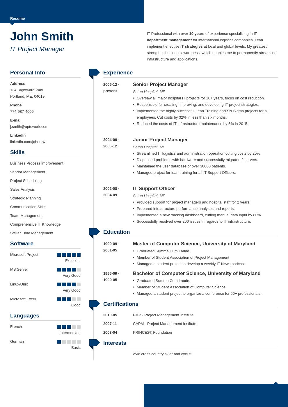 professional resume template modern   resume design   pinterest
