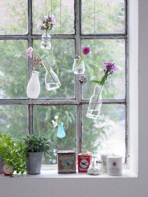 Blumen Im Fenster Diy Ideen
